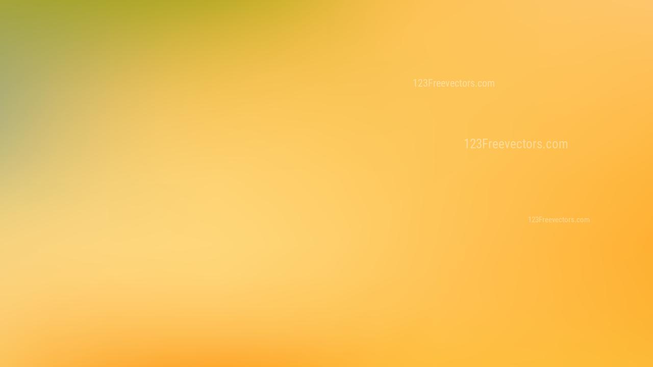 Orange And Green Blur Photo Wallpaper