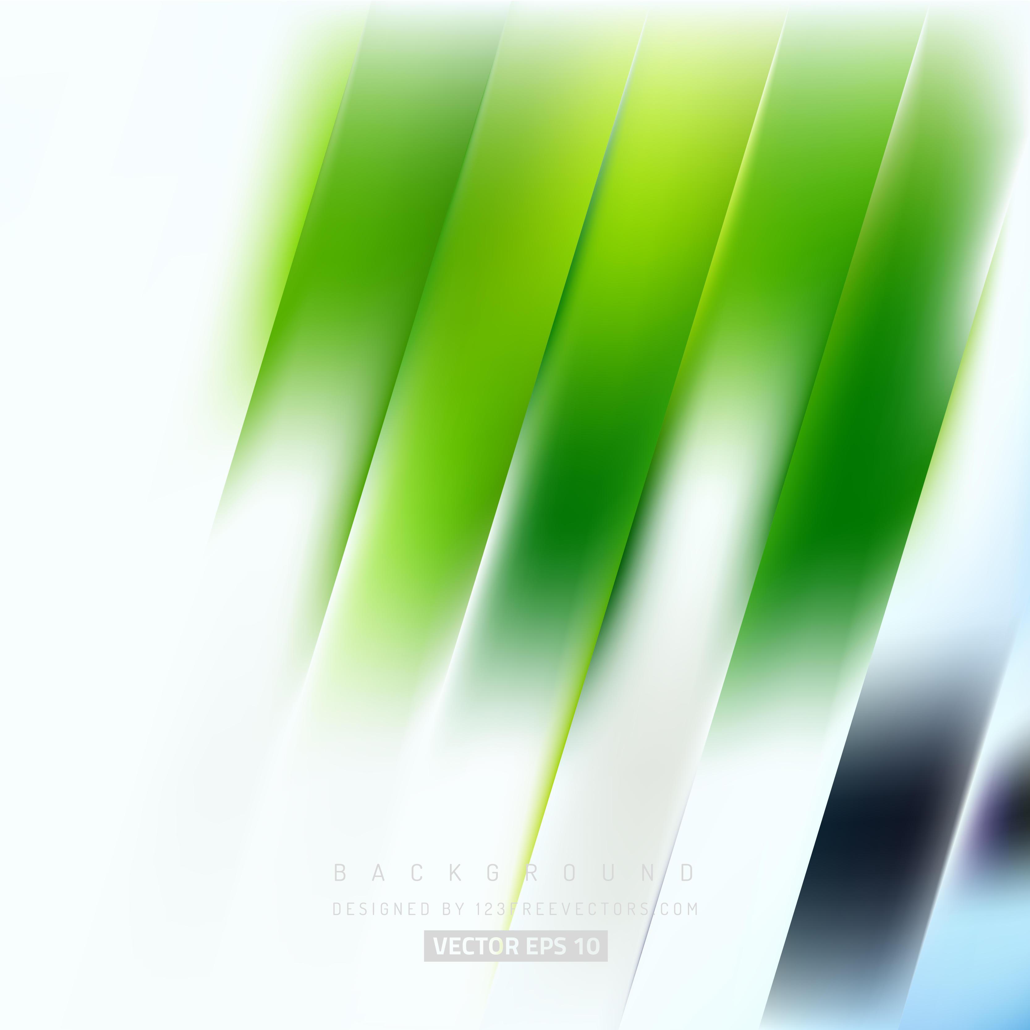 White Green Striped Background