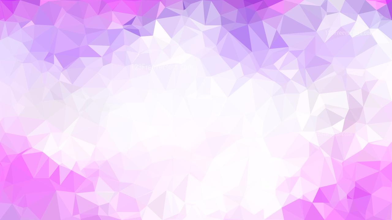Purple And White Polygon Background Design Graphic