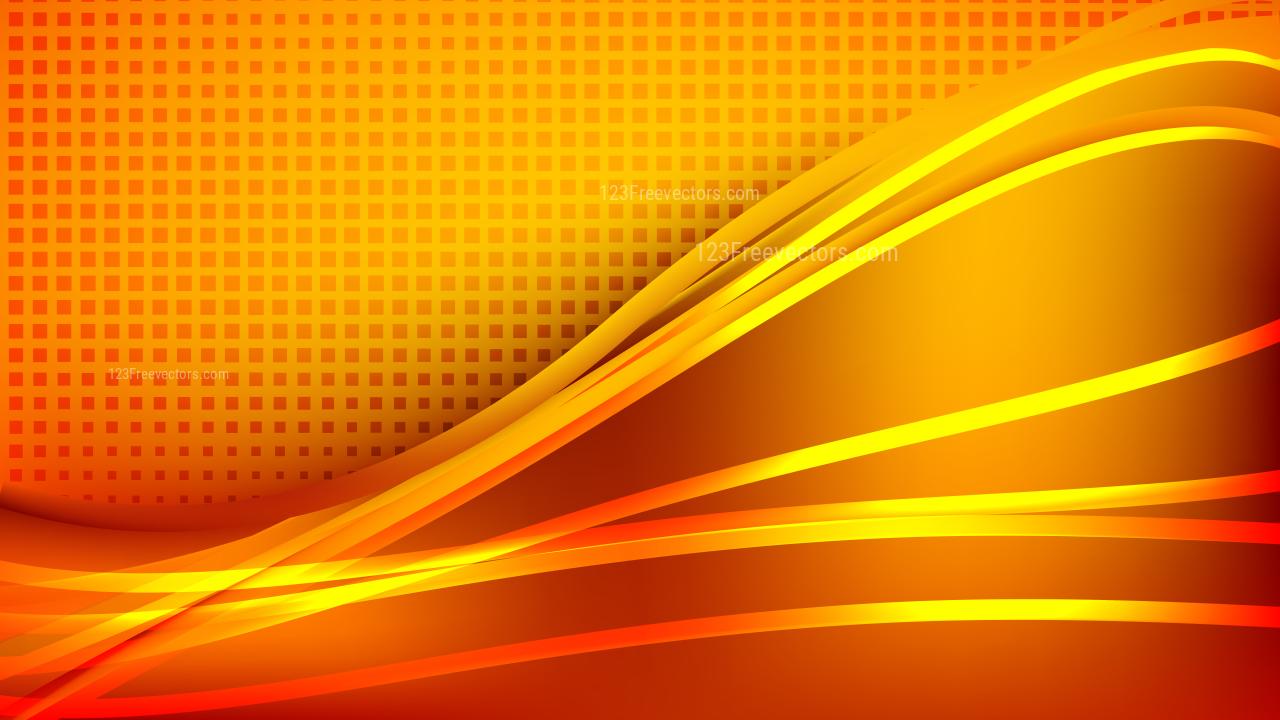 Modern Abstract Orange Background Vector