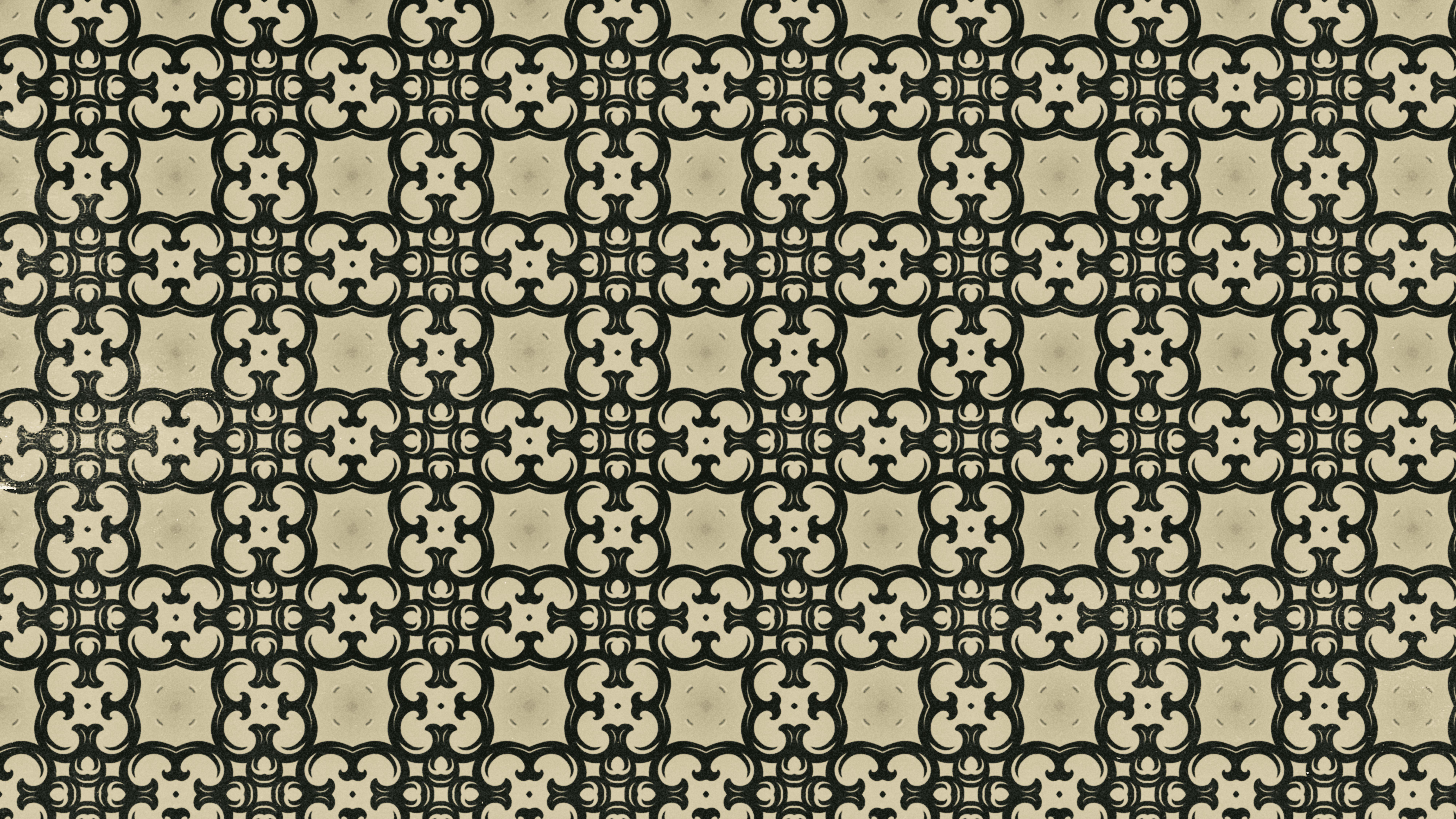 Dark Brown Vintage Floral Pattern Texture Background Template