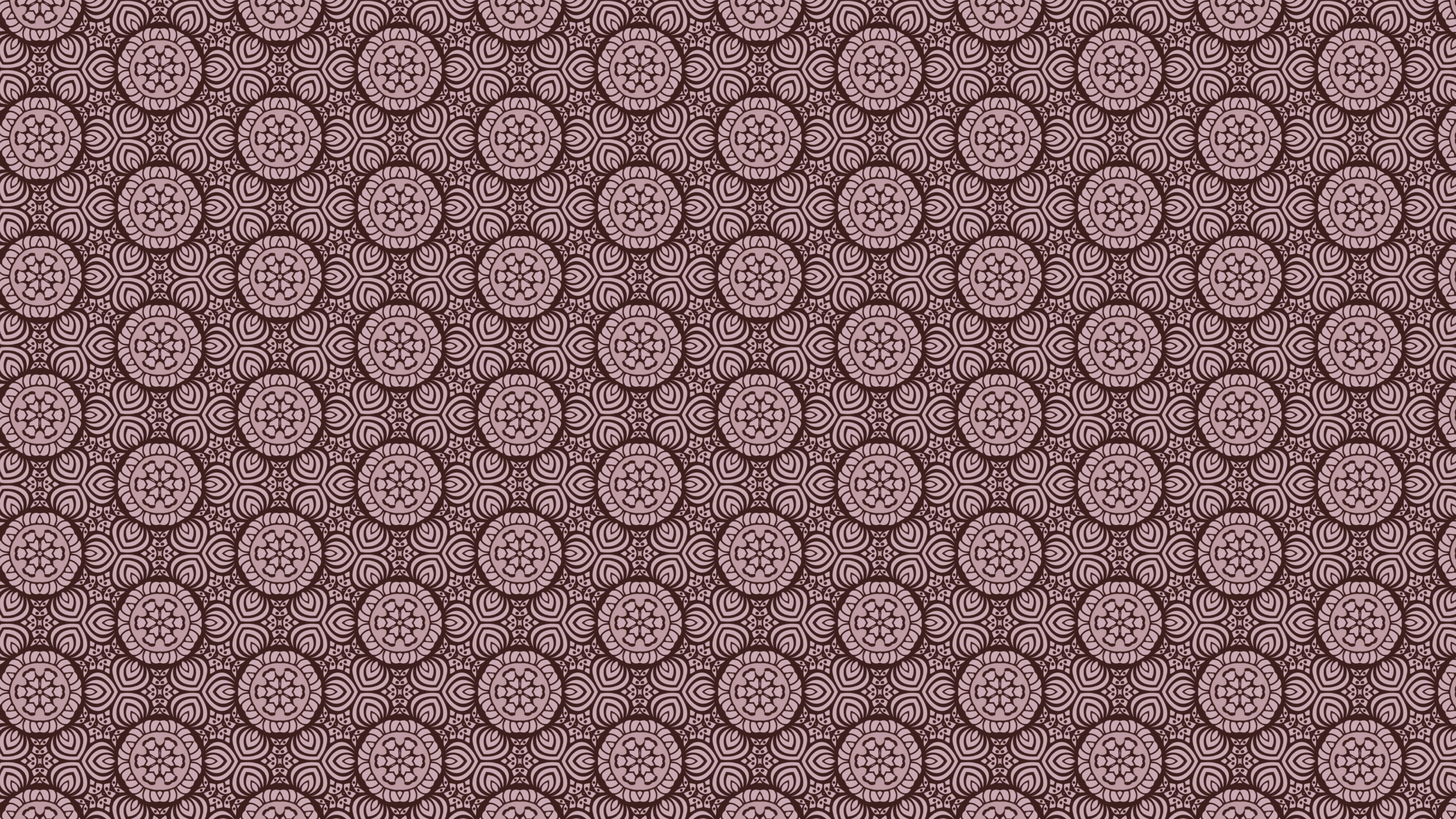 Pink Vintage Floral Seamless Pattern Wallpaper Design Template