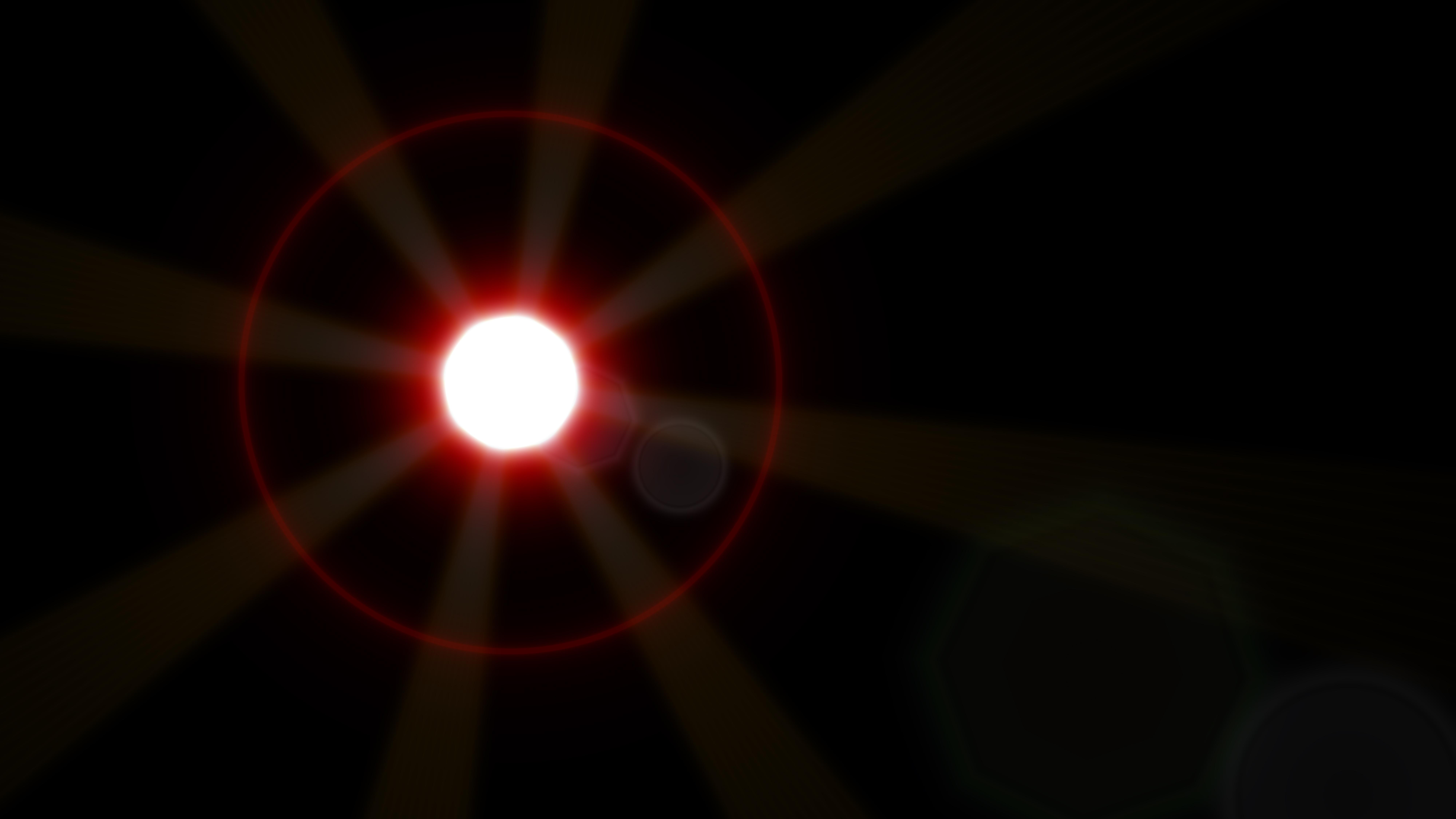 Free Black Flare Light Flash Background