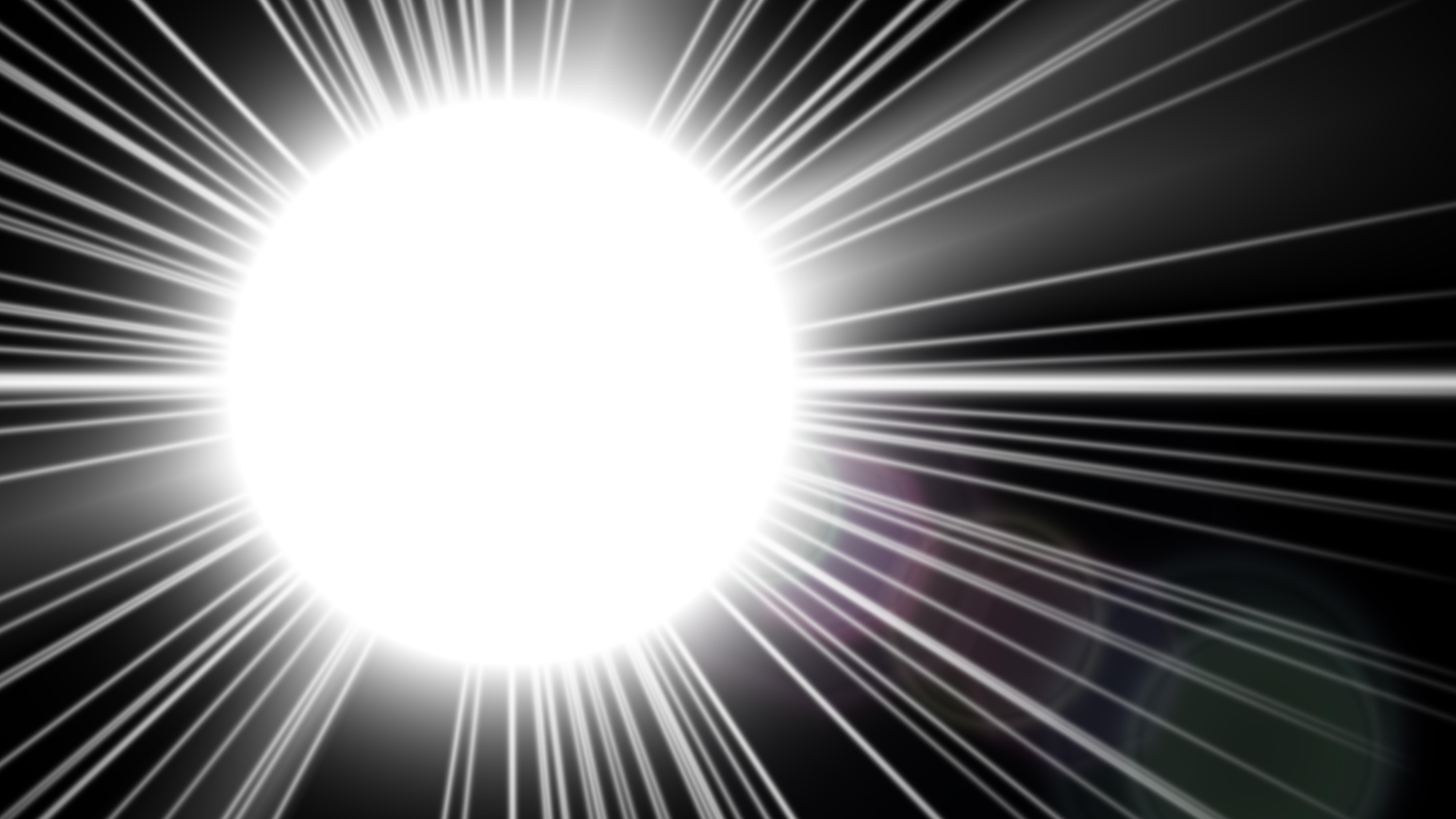 Free Black And White Flare Light Flash Background