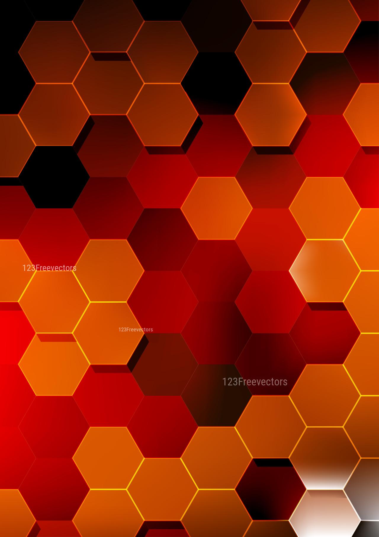 Black Red And Orange Hexagon Background Download the perfect hexagon pictures. black red and orange hexagon background