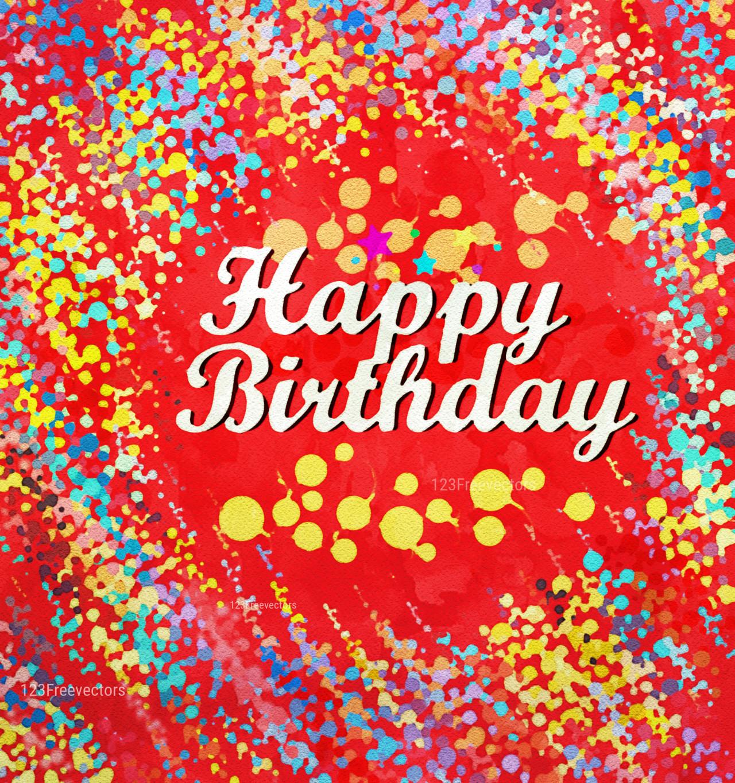 Birthday Party Background Design