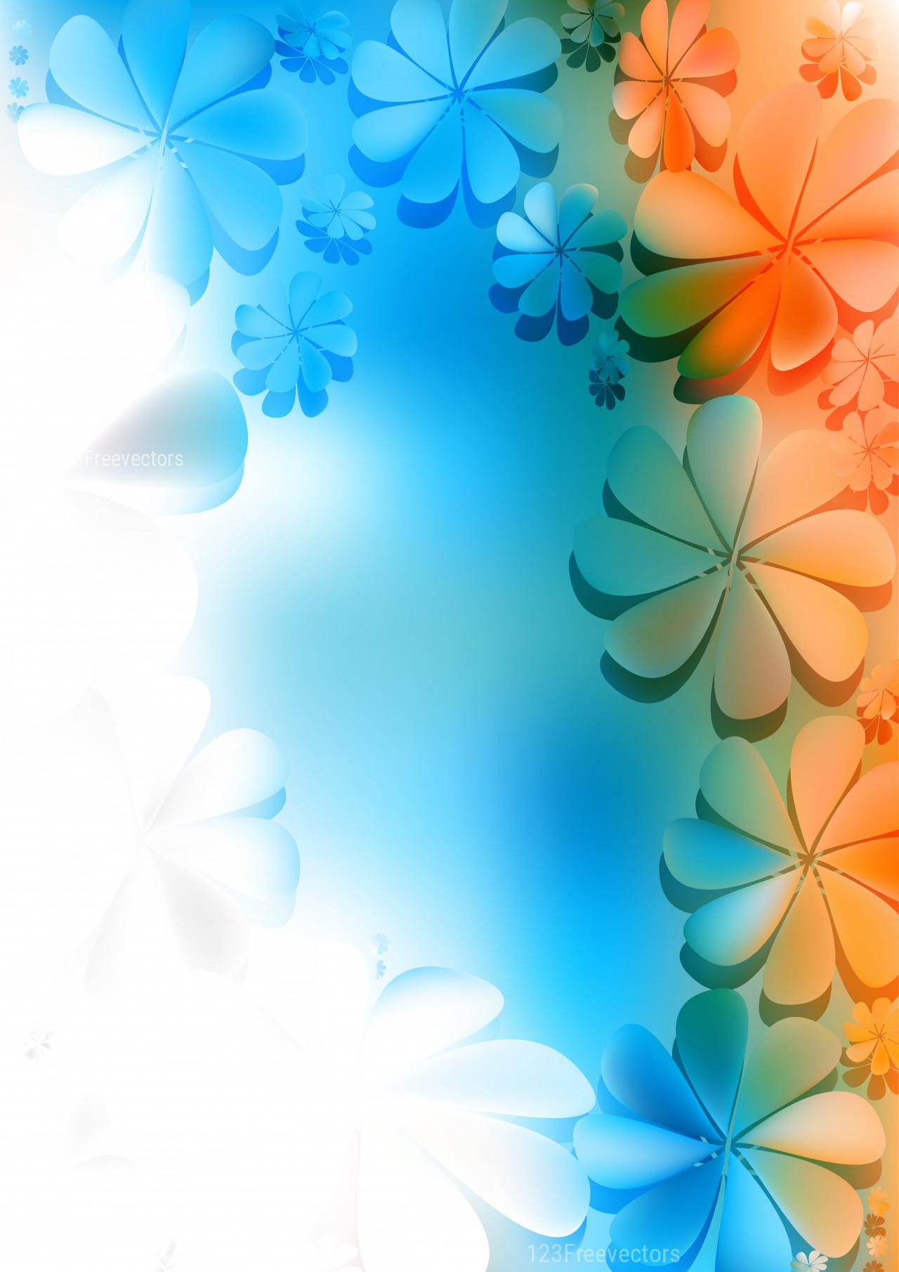 Blue Floral Background 20 Blue Flower Backgrounds 2020 02 14