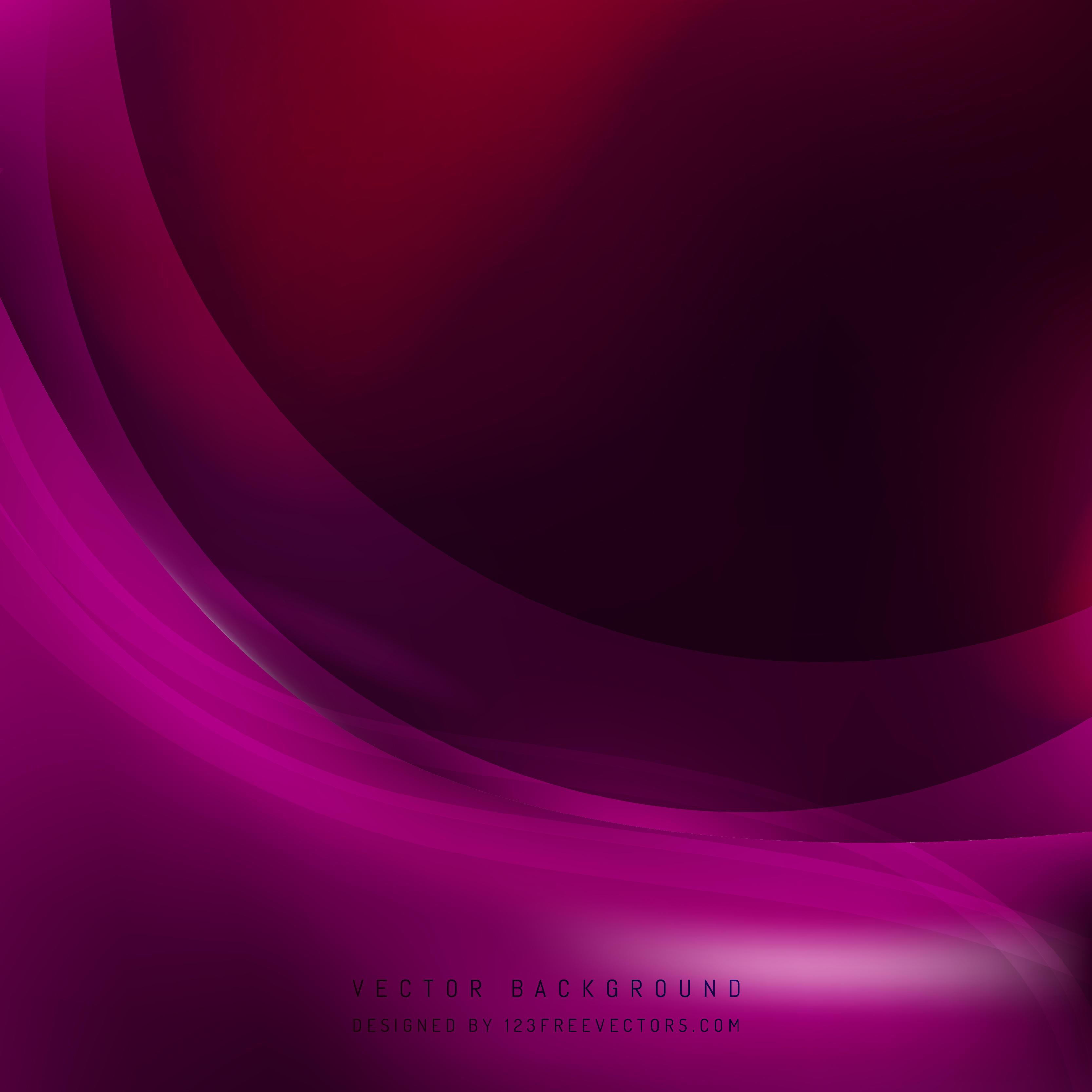 Tyrian Purple Wave Background