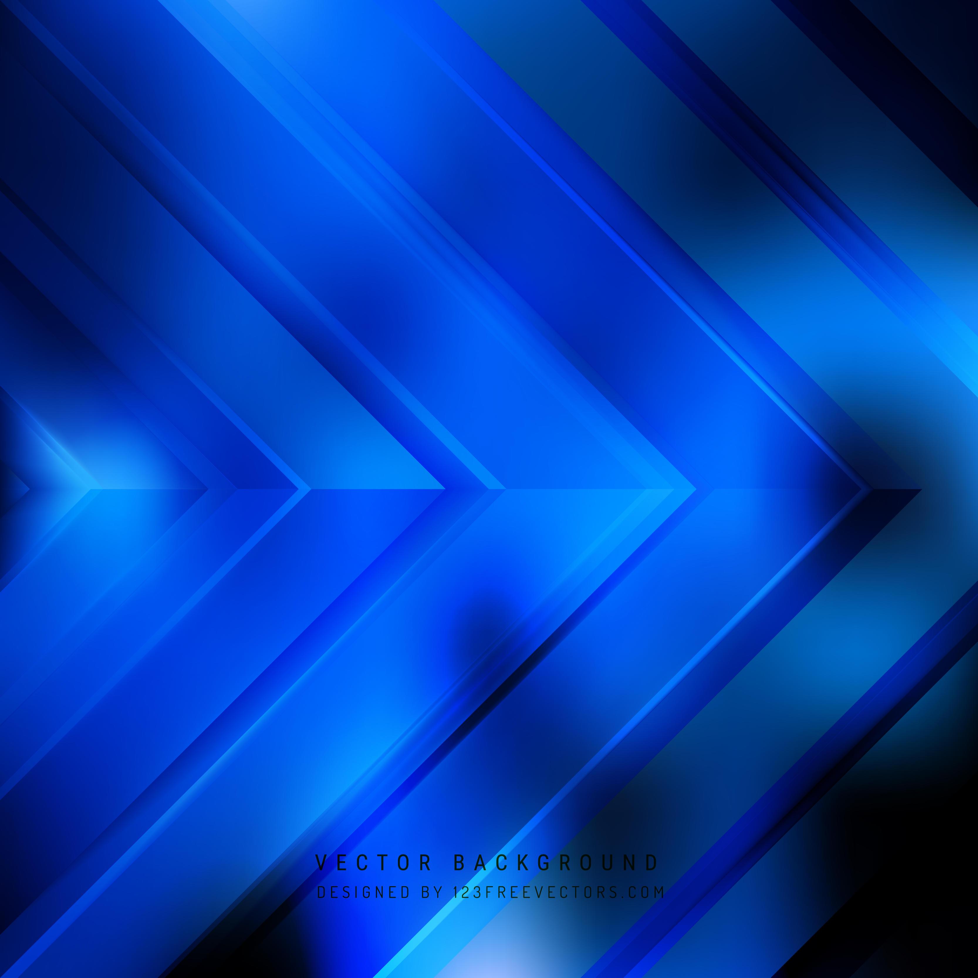 Navy Blue Arrow Background Design