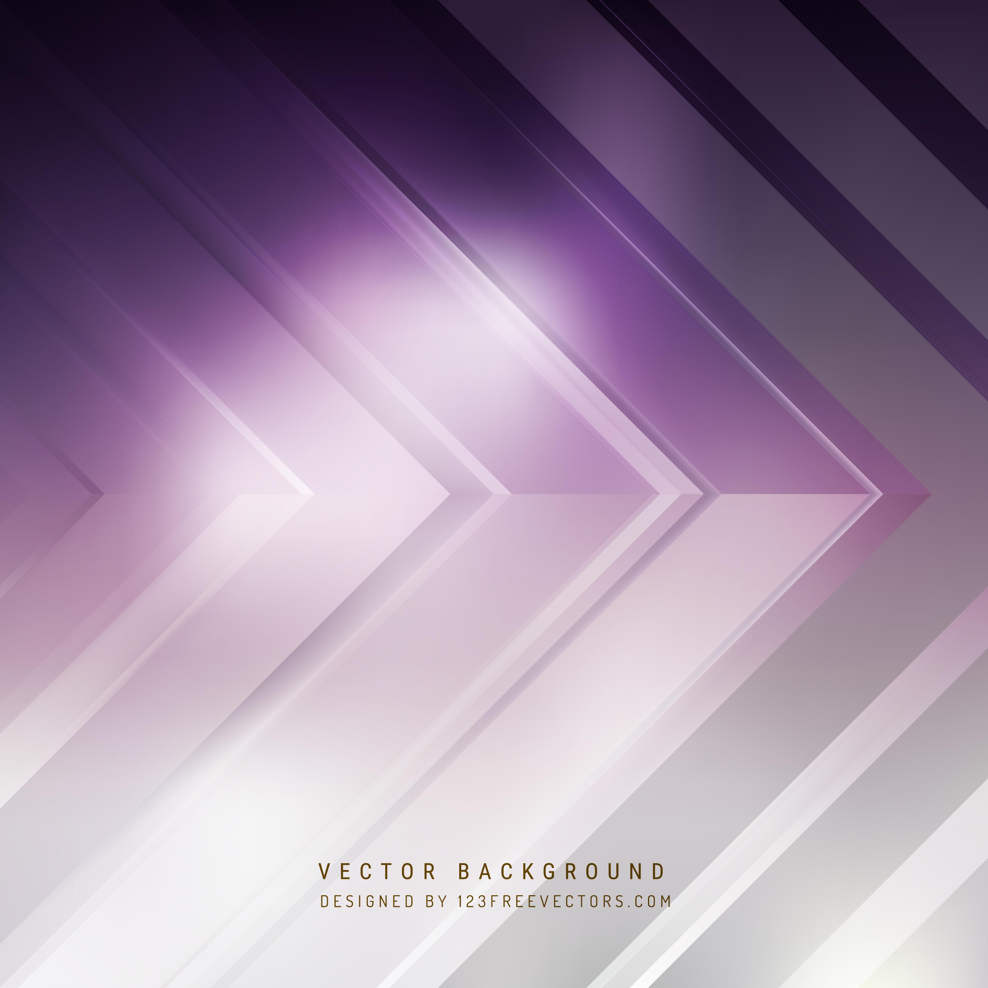 Purple Gray And White Bedroom: Purple Gray Arrow Background Design