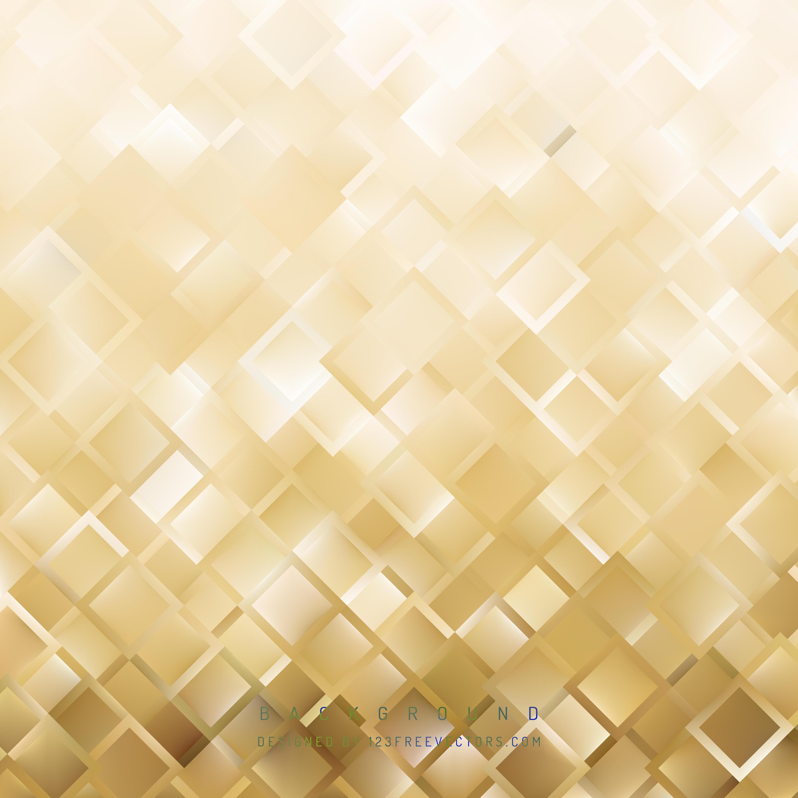 Geometric Polygon Light Gold Background Graphics