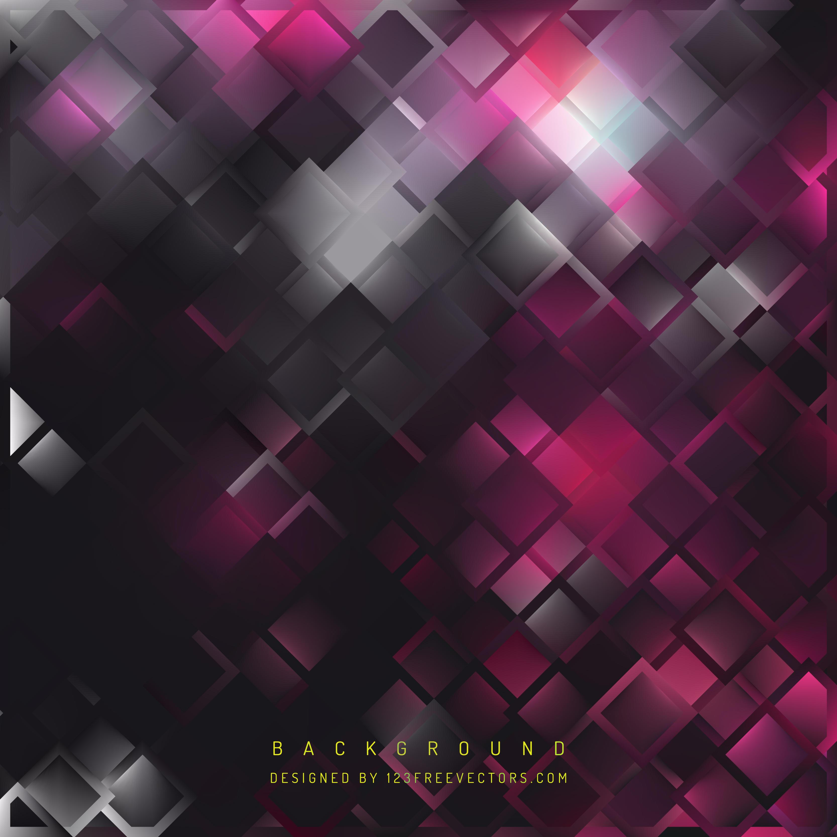 Black Pink Square Background DesignPink And Black Background Vector Designs