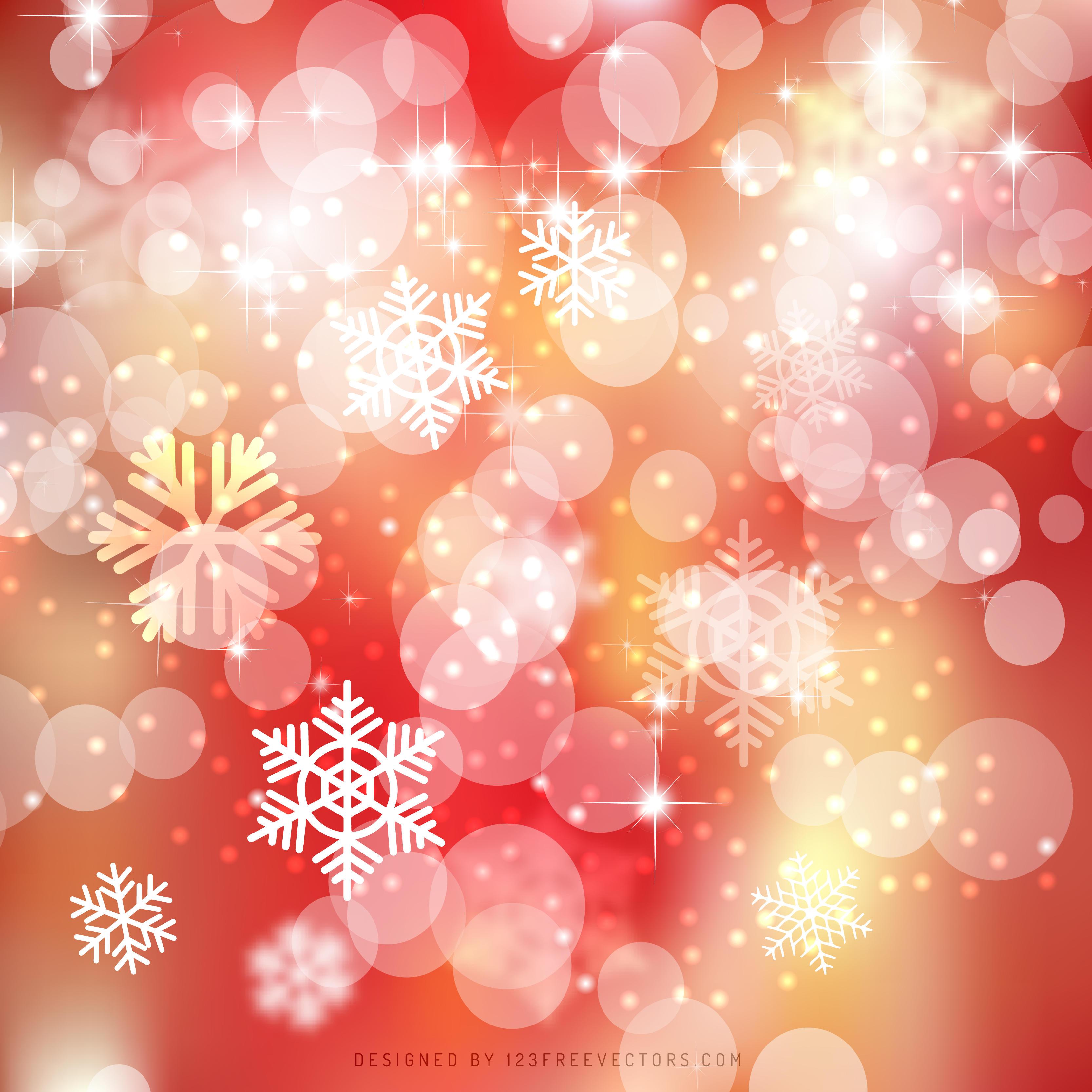 Yellow Pink Bokeh Christmas Lights Background