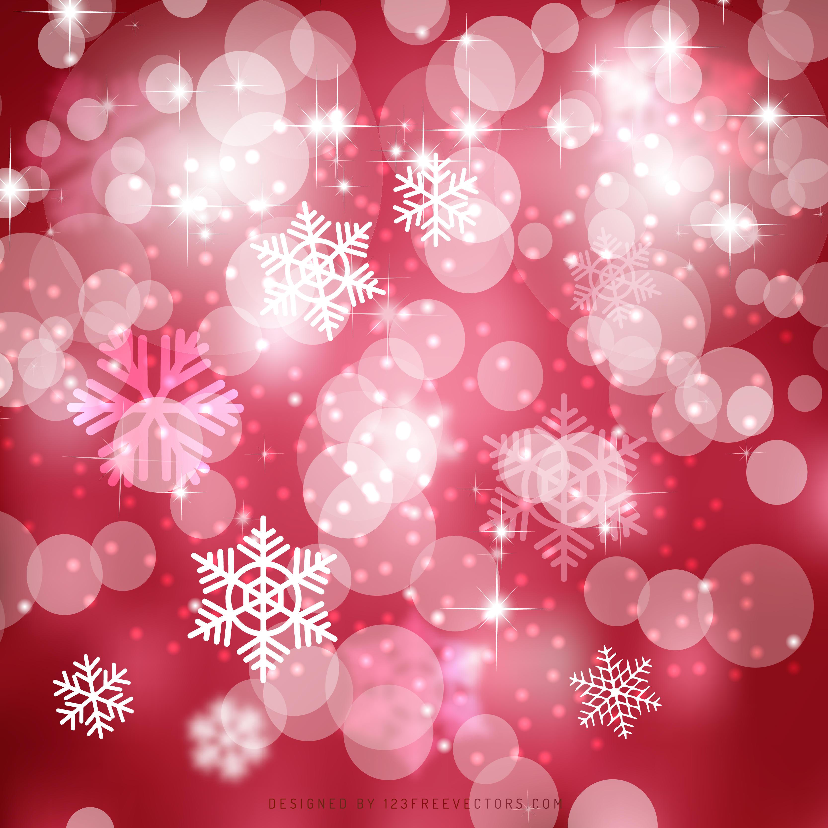 Amaranth Pink Bokeh Christmas Lights Background Graphics