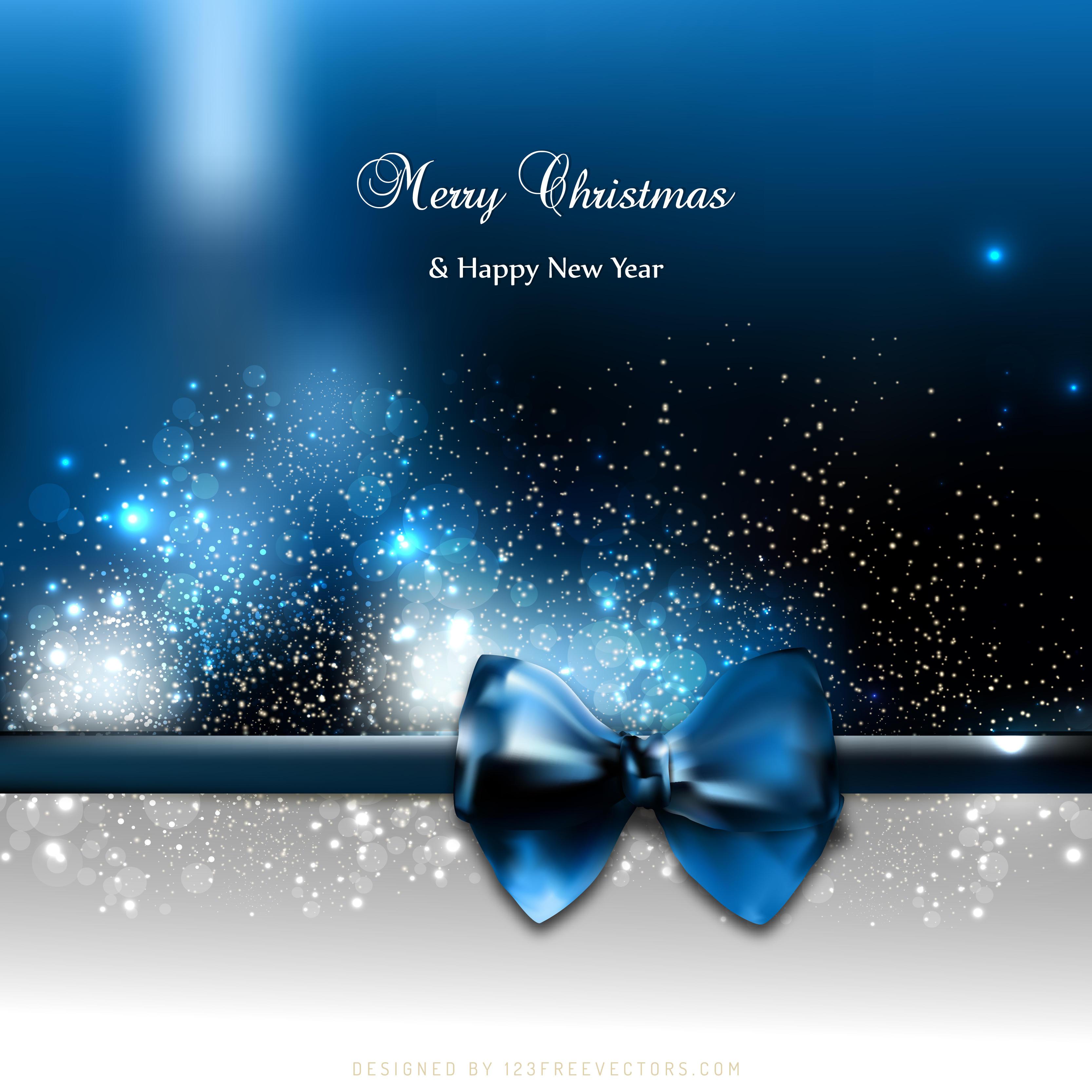 780 Blue Christmas Background Vectors
