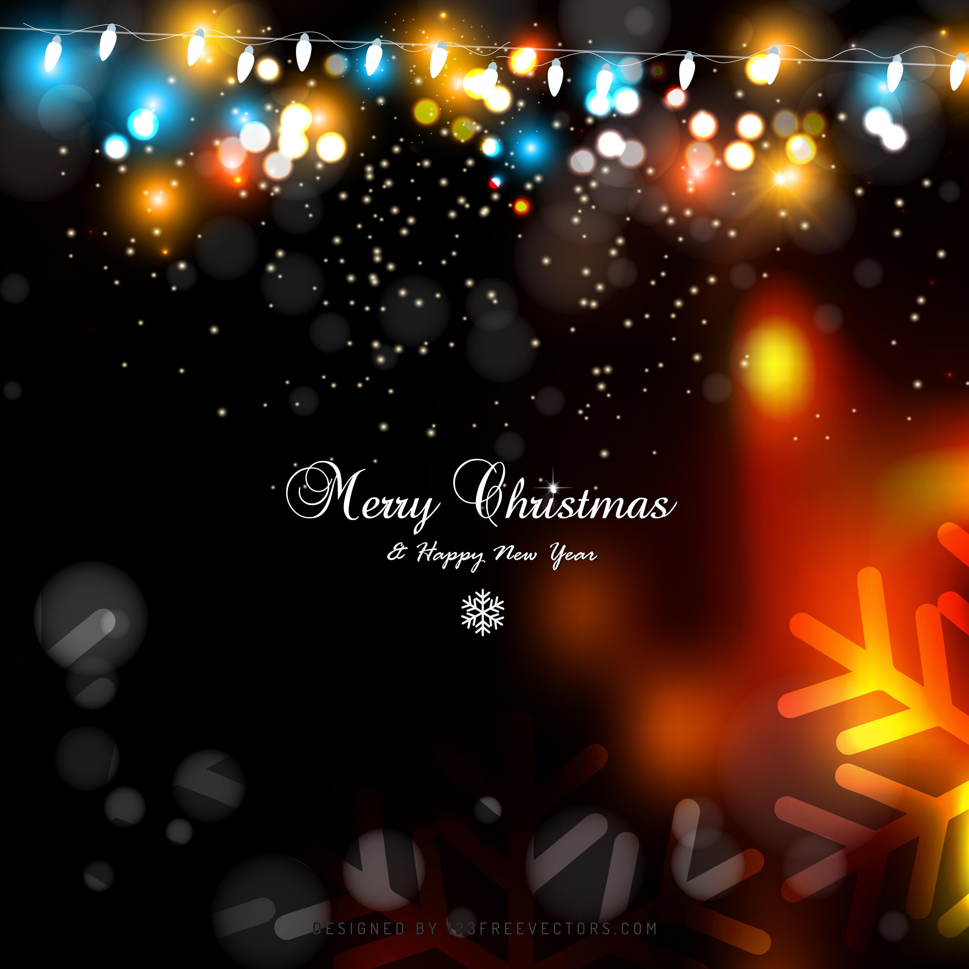 black orange fire christmas lights background graphics 123freevectors