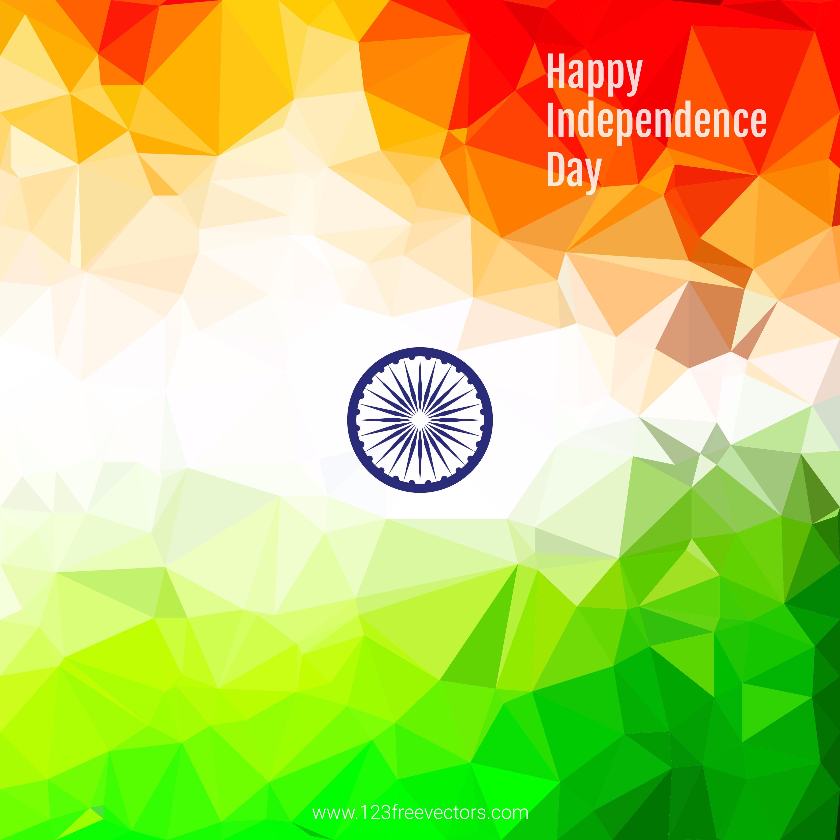 Indian Flag Wallpaper Vector