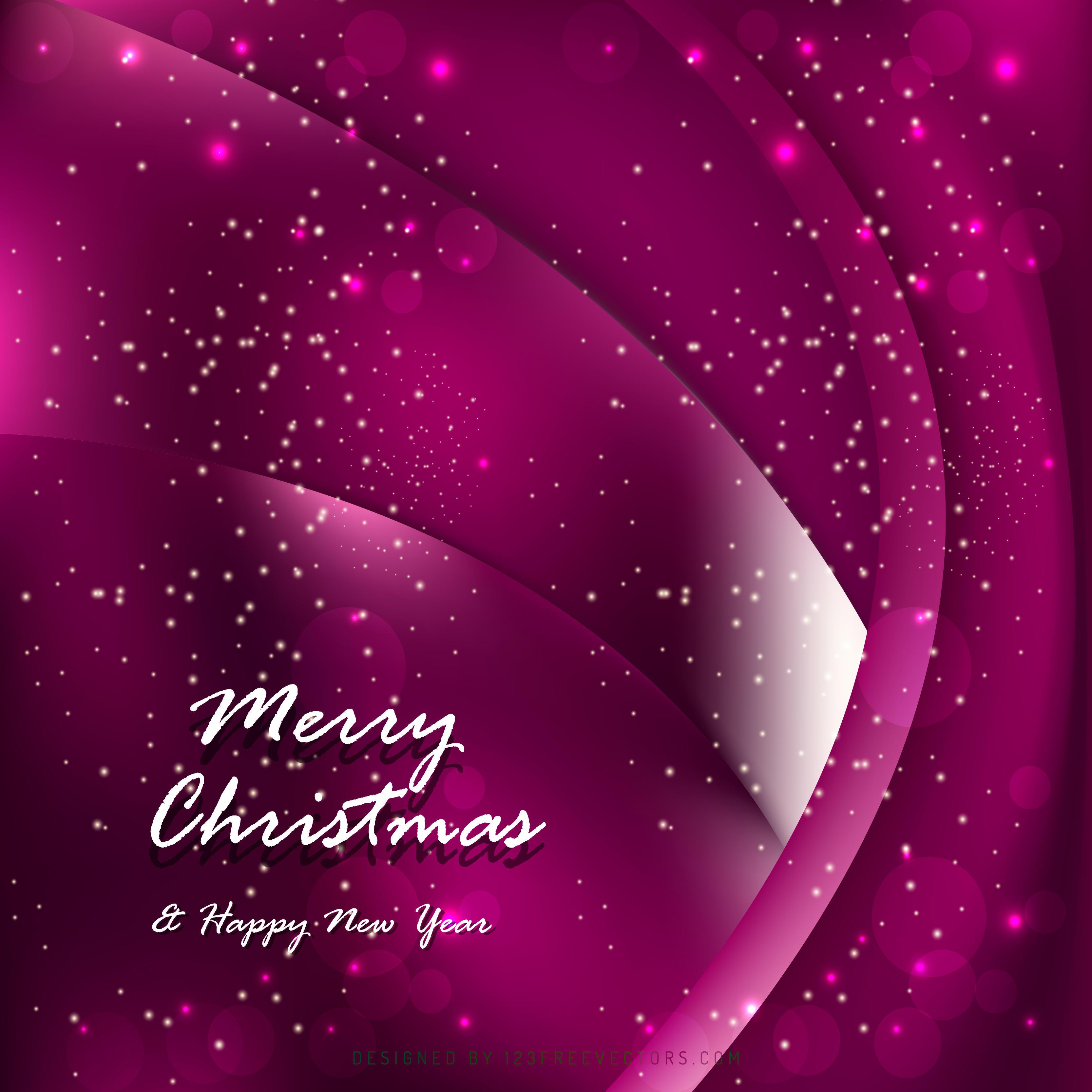 Tyrian Purple Christmas Background Image