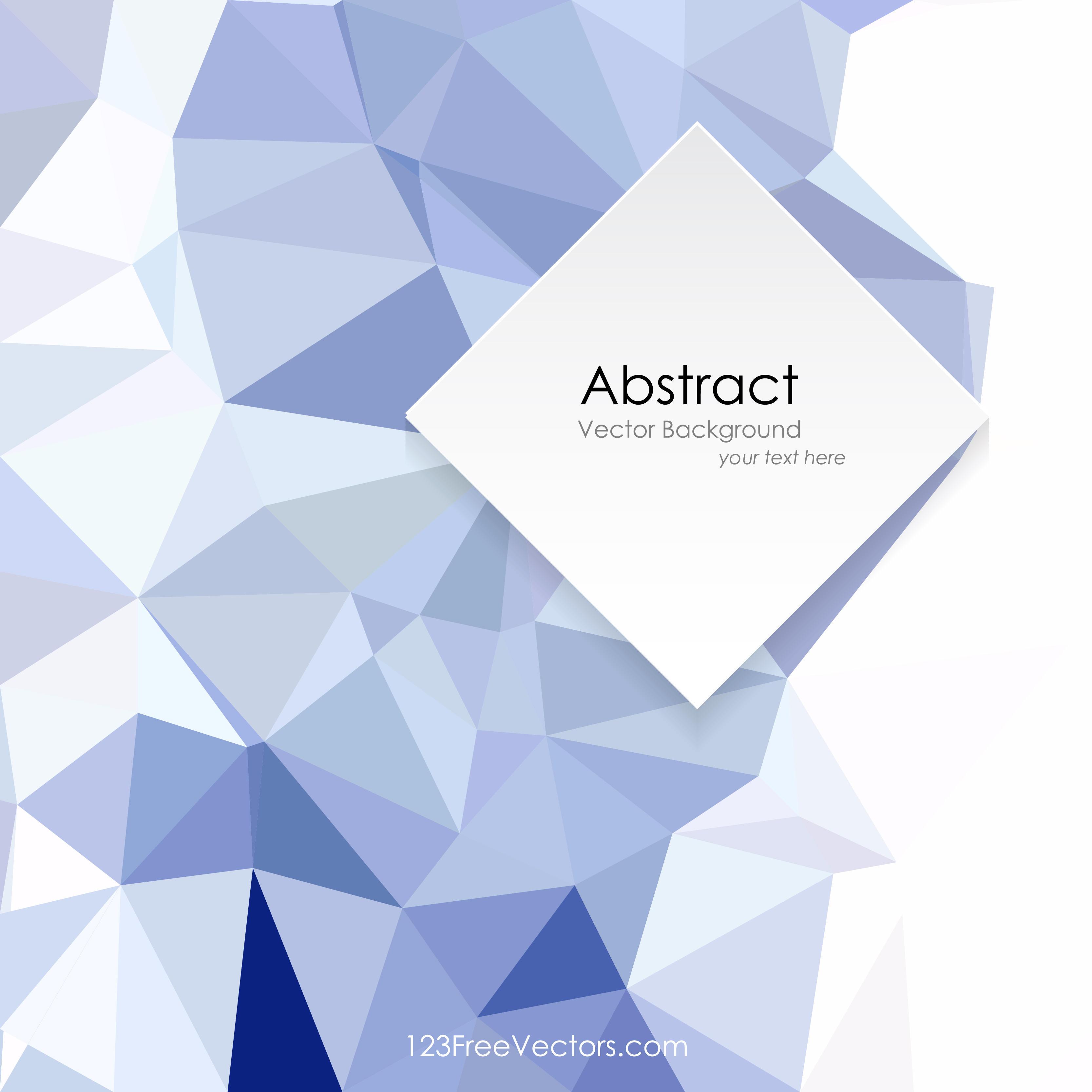 Polygonal Light Blue Wallpaper Pattern Background