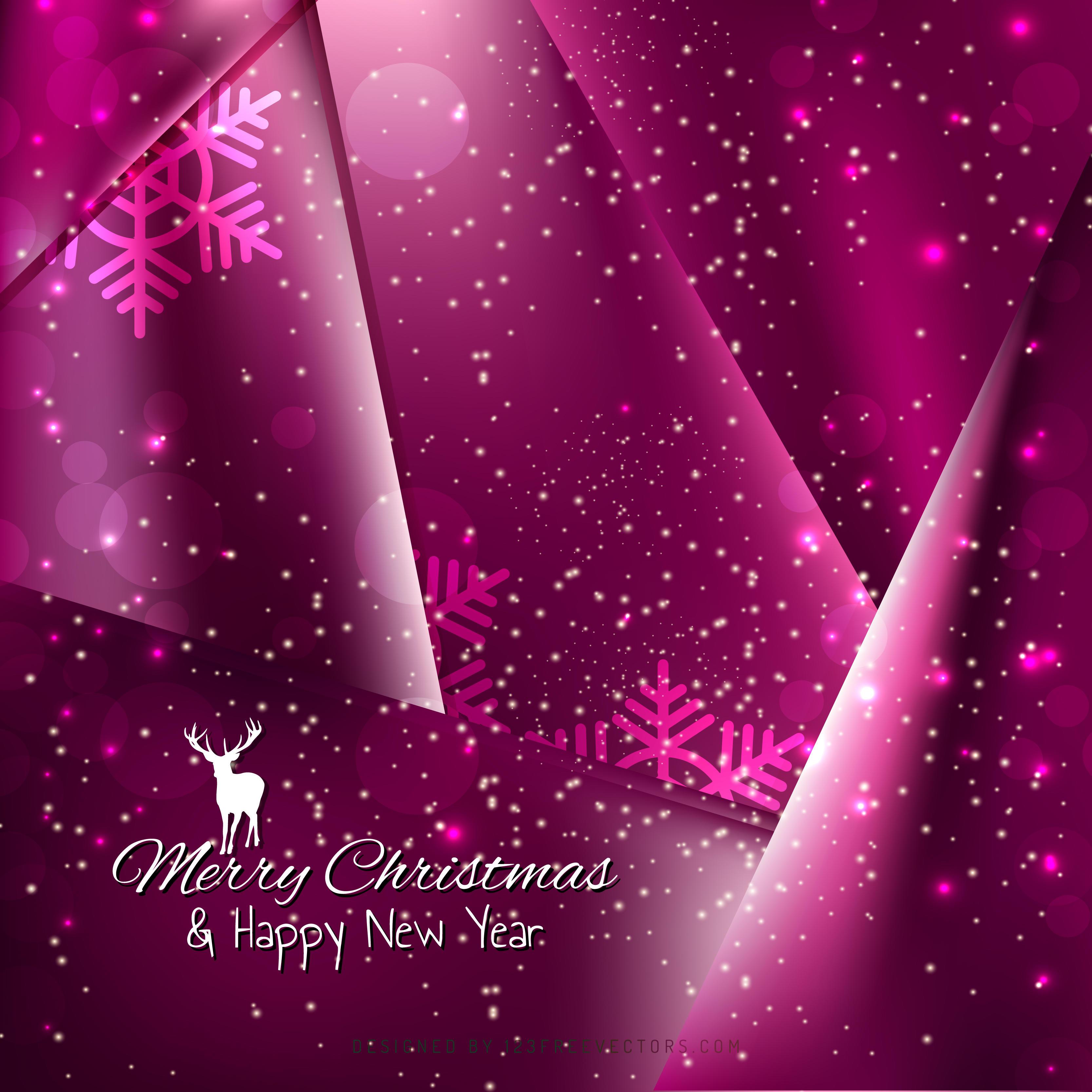 tyrian purple christmas balls background design 123freevectors