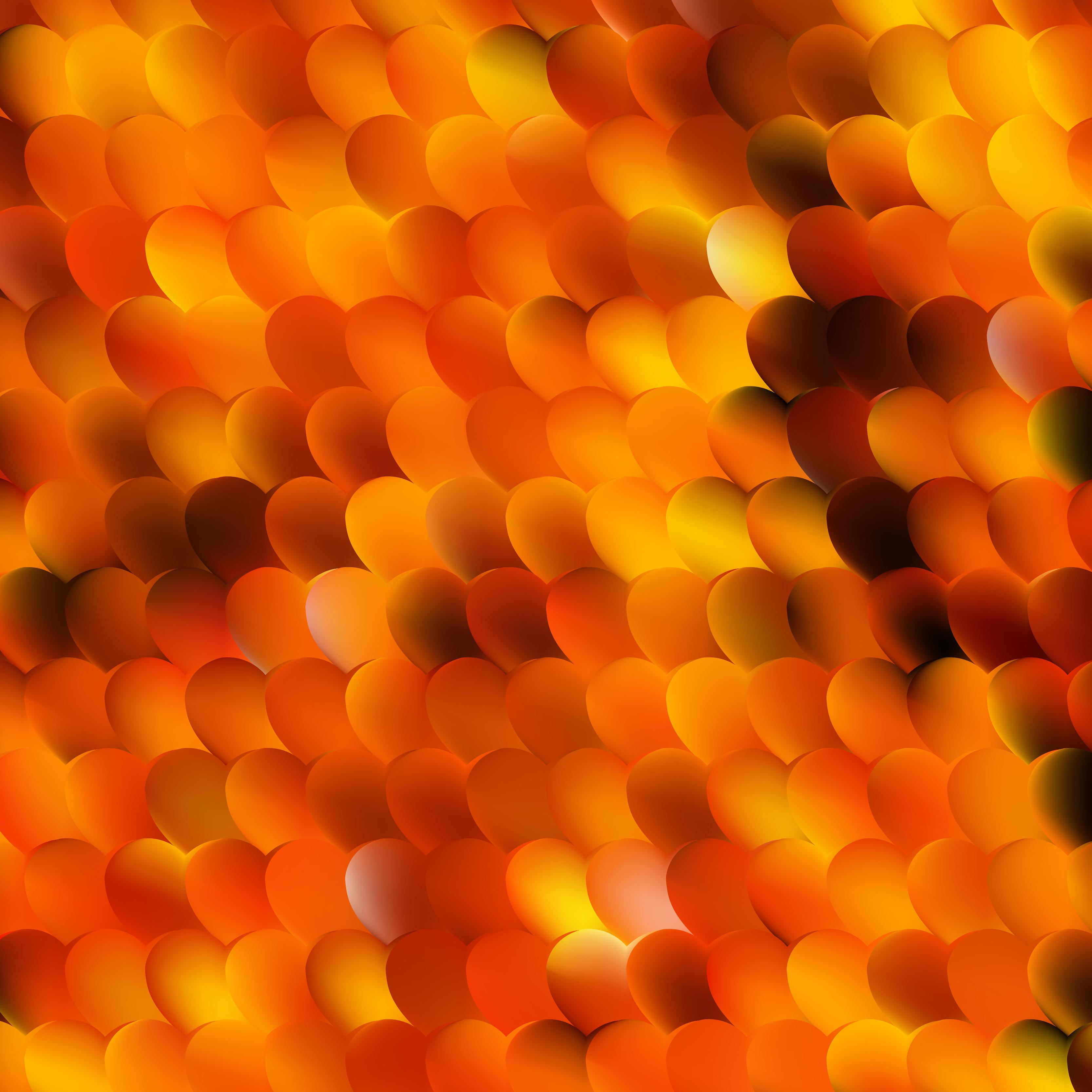 cool orange background