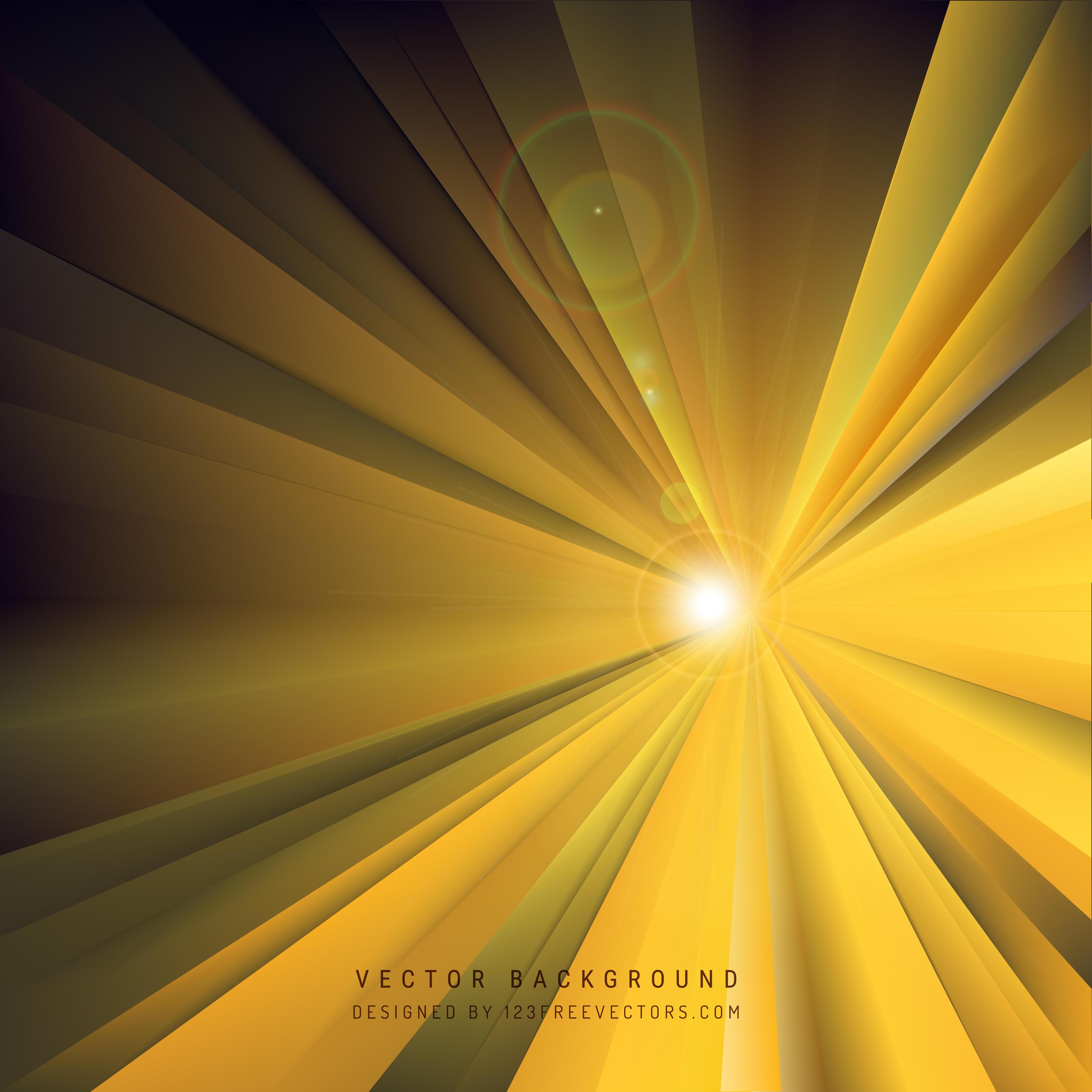 Black Yellow Light Rays Background Template | 123Freevectors for Yellow Light Rays Background  75sfw