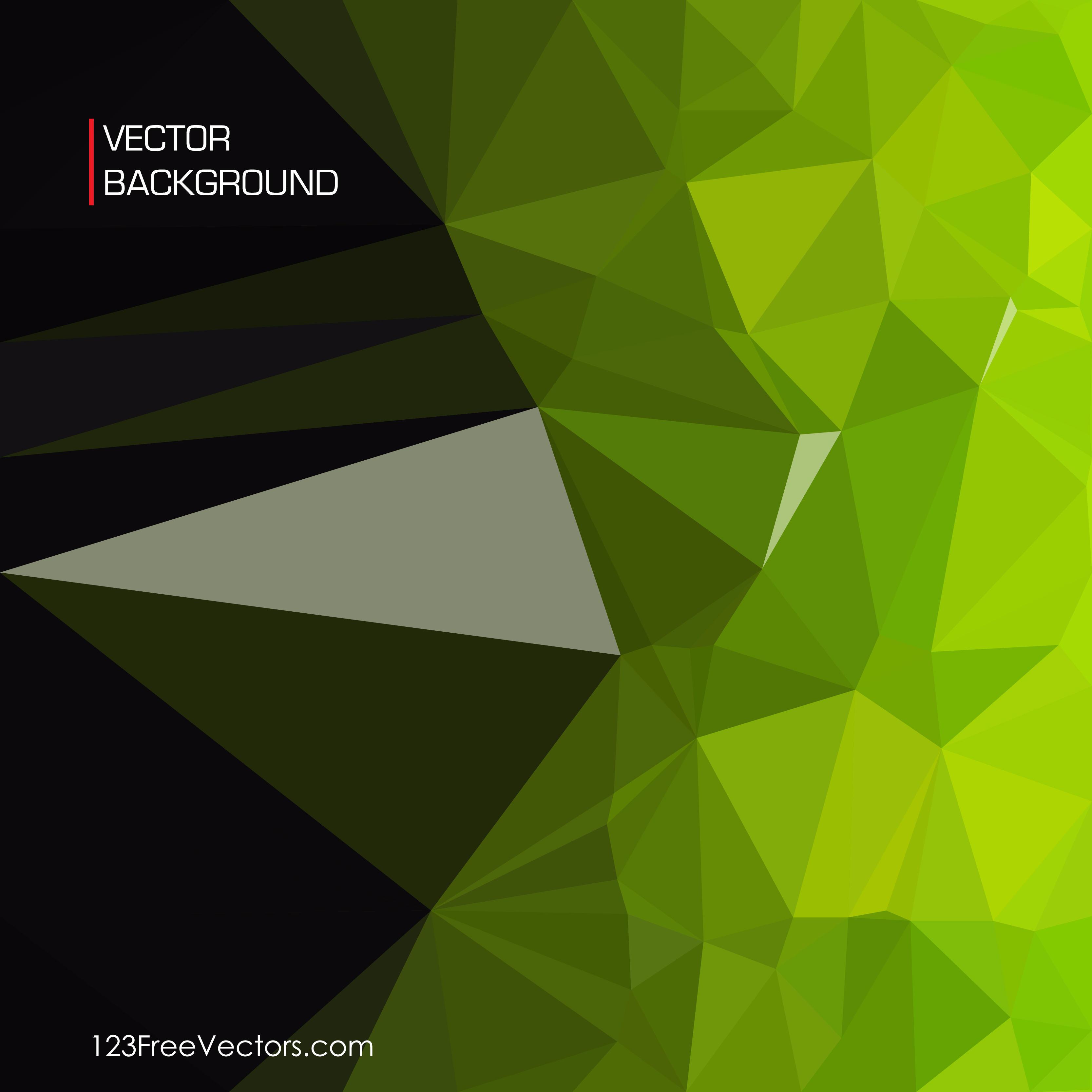 Black Green Background Design