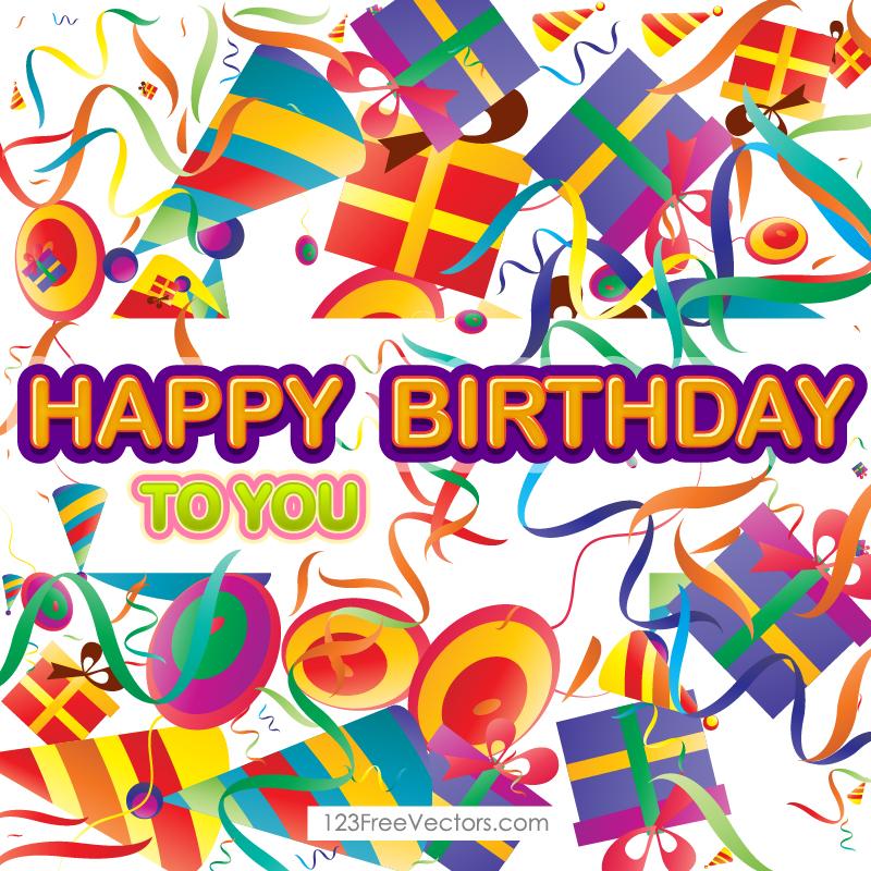 10 happy birthday poster vectors download free vector art