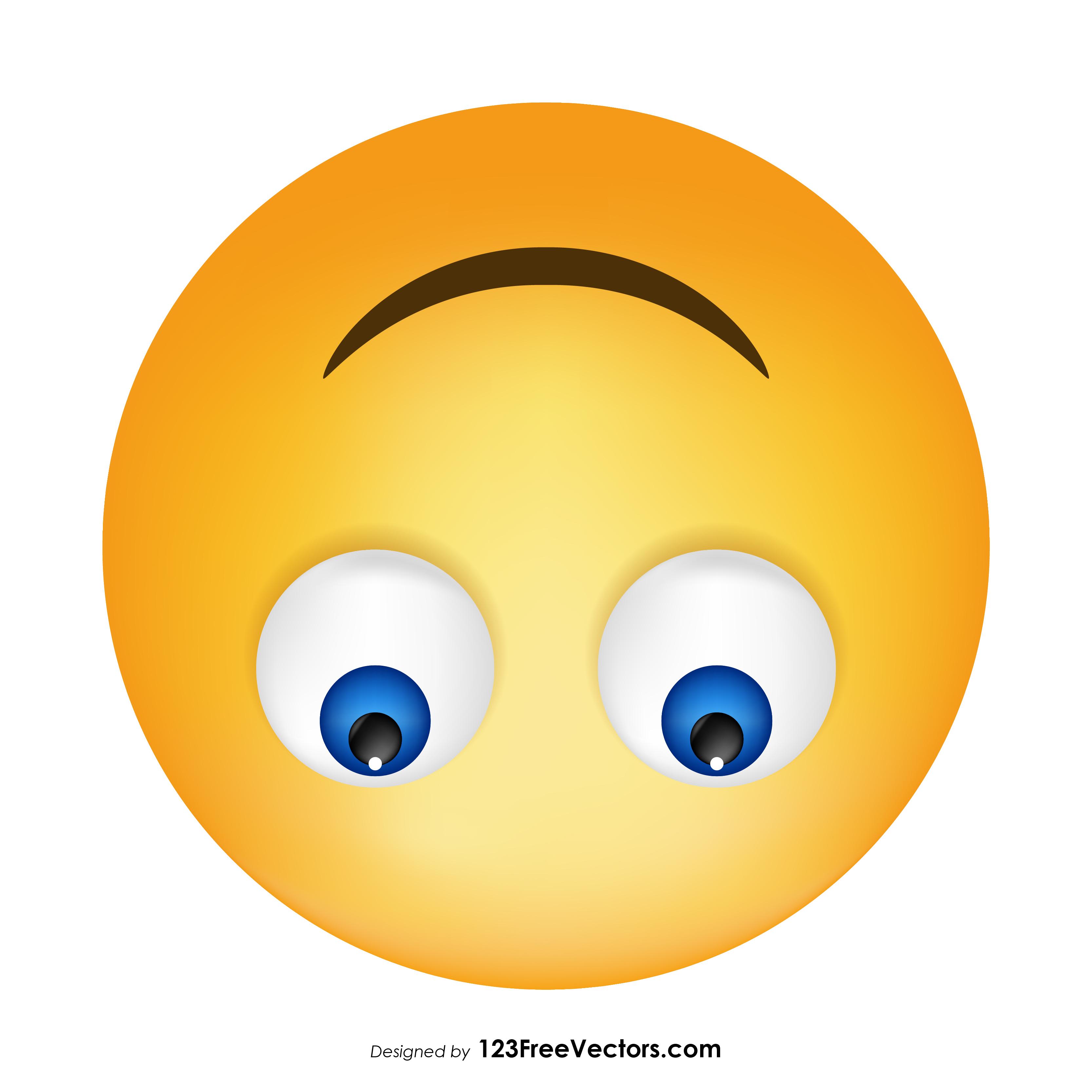Upside-Down Face Emoji Icons