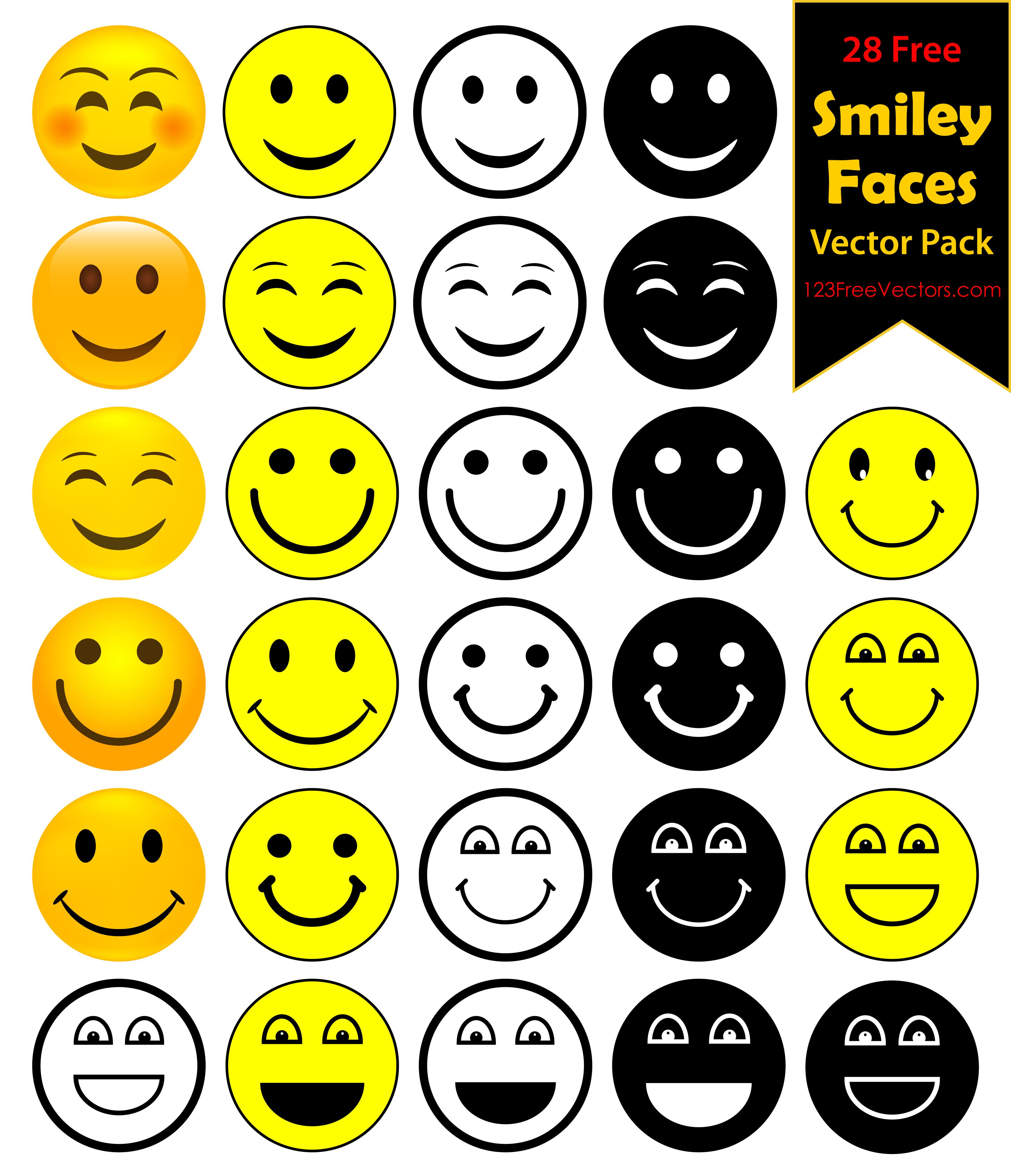 Acid Smiley Face Vector Free 123freevectors