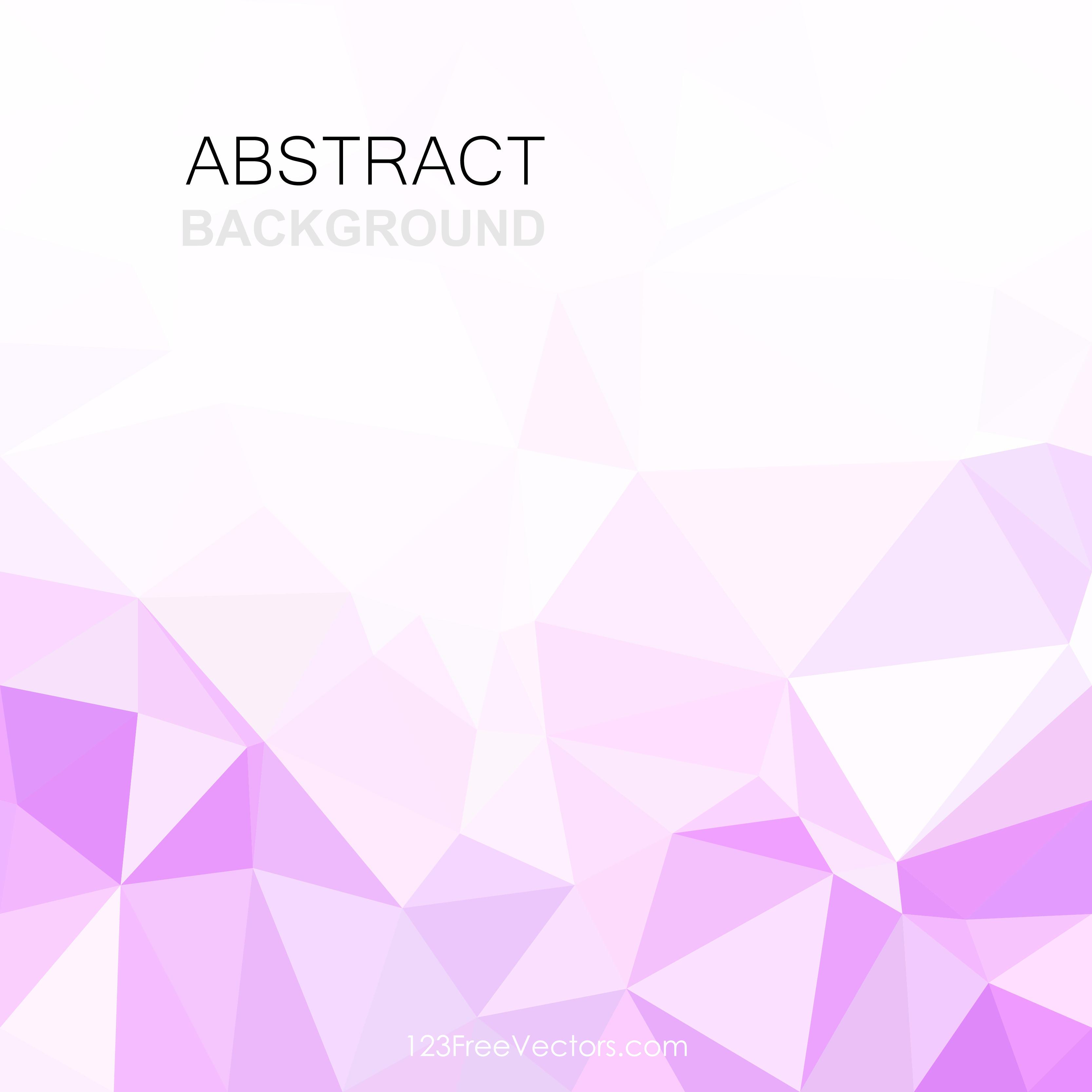 Light Purple Abstract Polygonal Background Clip Art