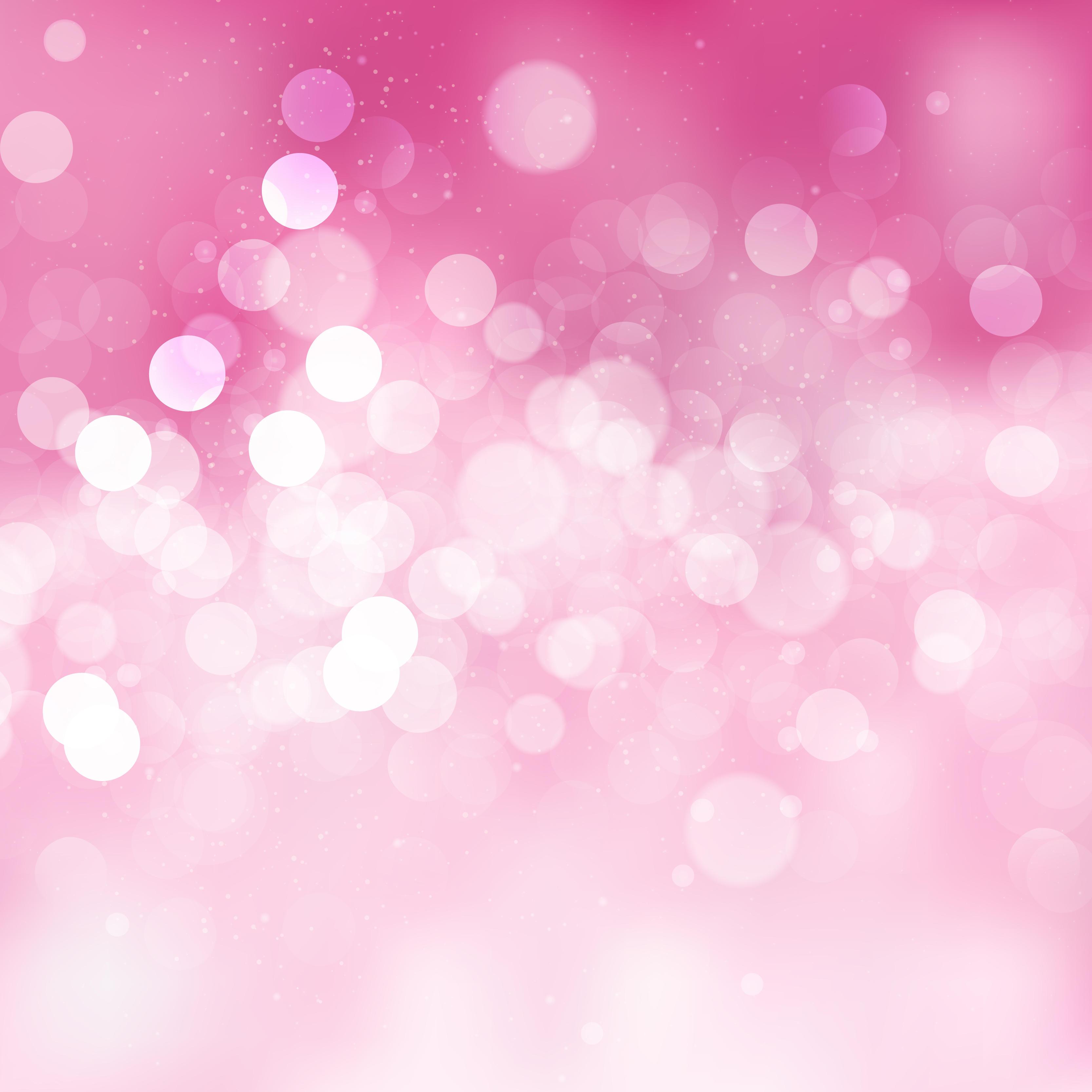 Abstract Light Pink Bokeh Backdrop