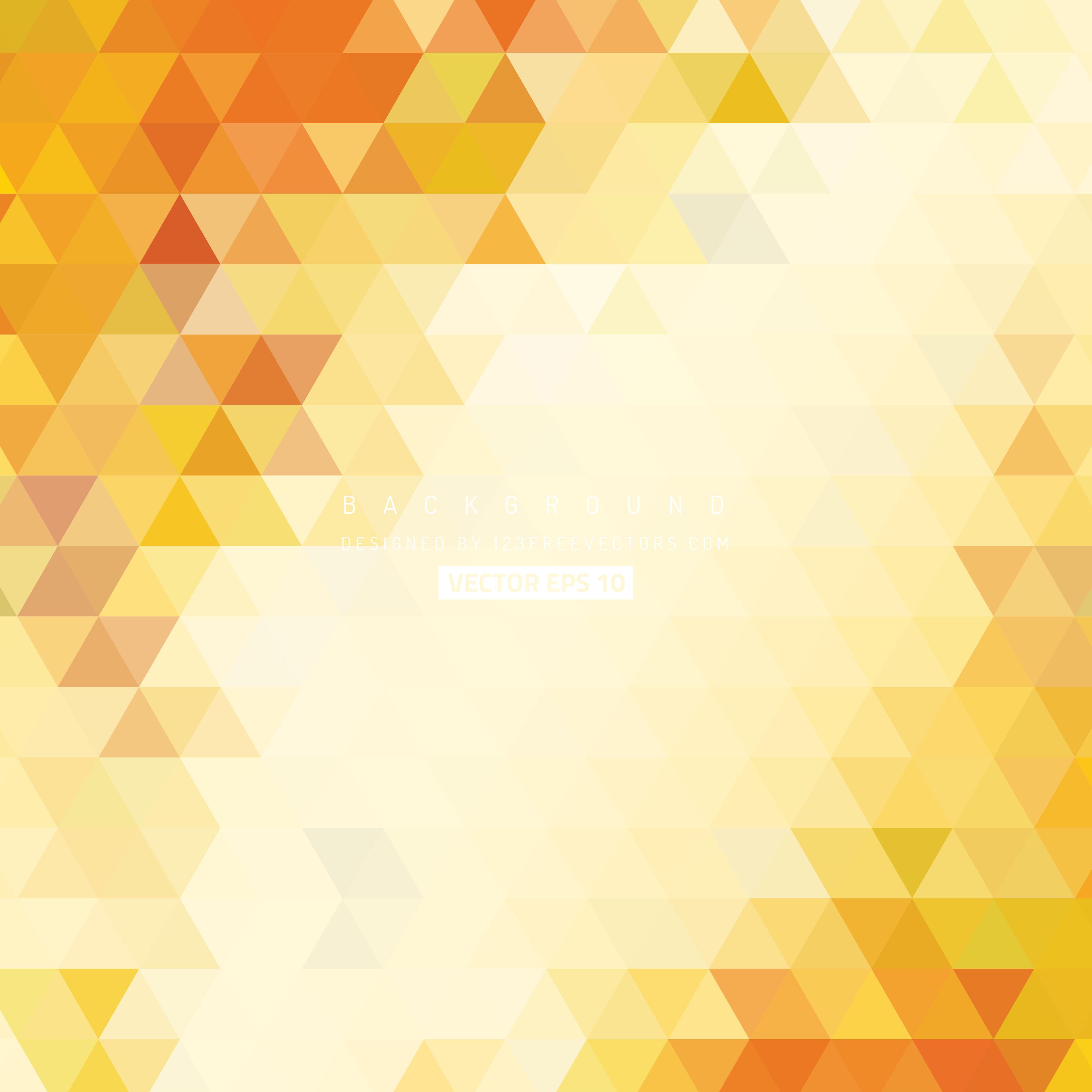 Light Orange Triangle Background Illustrator | 123Freevectors for Background Pattern Light Orange  61obs