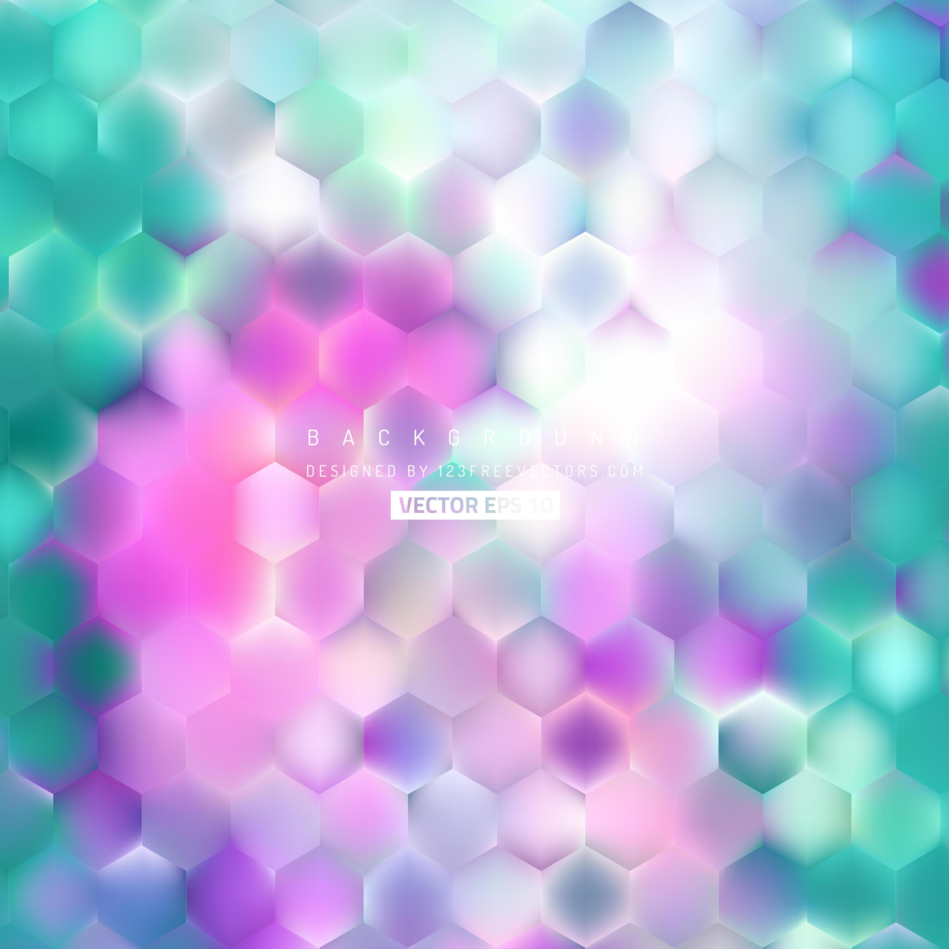 pink purple turquoise background round designs